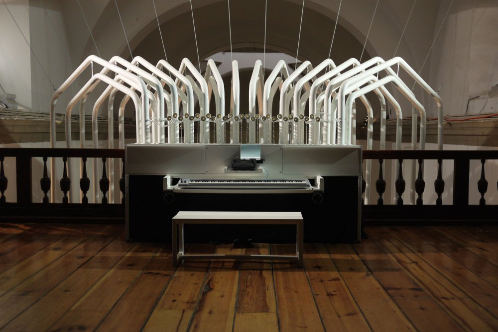 Órgano: A speaking pipe organ