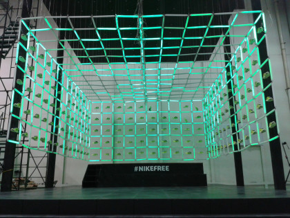 Nike Freestore front view